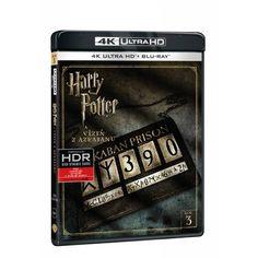 Blu-ray Harry Potter a vězeň z Azkabanu, UHD + BD, CZ dabing | Elpéčko - Predaj vinylových LP platní, hudobných CD a Blu-ray filmov Harry Potter, Prison, Blues, Fantasy, Fantasia
