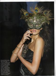 """Vogue Paris May 2007, """"Noctambule"""""""