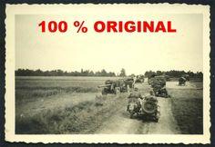 orig. WK2 TECHNIK FOTO - KRAD - MOTORRAD - BEIWAGEN - VORMARSCH OSTFRONT 1941