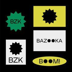Visual Identity for Bazooka Prod.Design by Identity Card Design, Collateral Design, Visual Identity, Branding Design, Corporate Design, Identity Branding, Corporate Identity, Brochure Design, Museum Identity