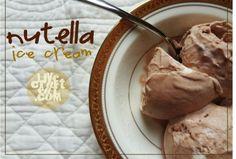 Nutella Ice Cream