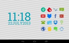 Requirements: and up Overview: Stamped is a fun, colorful icon pack perfect for everyday use. Android Icons, Free Android, Free Icon Packs, How To Apply, Stamp, Apps, Colorful, Fun, Stamps