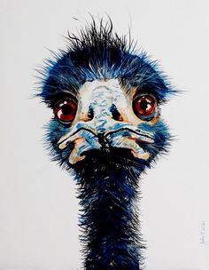 Quirky Art, Weird Art, Bad Hair Day Funny, Buy Art Online, Owl, Birds, Artwork, Animals, Work Of Art