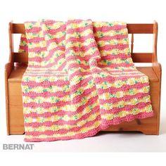 Free Easy Blanket Crochet Pattern