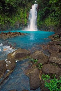Rio Celeste, Costa Rica. just wanna leave now!