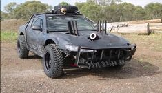 """The Mighty Car Mods' """"Mod Max"""" Nissan Silvia Is Everything Australian Insanity Should Stand For - powered by a Holden V8"""