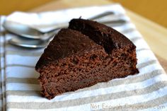 Lightened Up Chocolate Yogurt Cake. Serves 8.  Cal: 256 - Protein: 7g - Fat: 12.6g - Carbs: 28g - Fiber: 3.3g - Sugar: 13g  WW Old Points: 5 pts - Points+: 7 pts