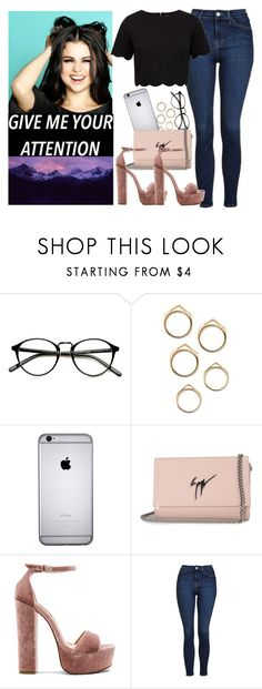 """""""Untitled #1250"""" by natalia-viana-gtl ❤ liked on Polyvore featuring Giuseppe Zanotti, Steve Madden, Topshop and Ted Baker"""