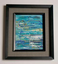 Blue Dream, Abstract Print. $30.00, via Etsy.