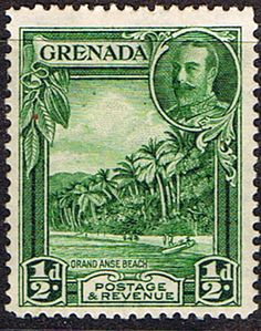 Grenada 1935 King George V Silver Jubilee Fine Used SG 146 Scott 125 Other Commonwealth Stamps here