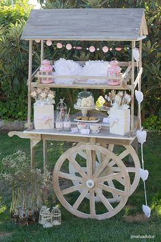 Vintage Candy or Dessert Bar Cart
