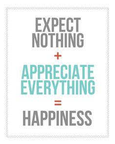 Sunday Encouragement: Expectations {3.23.14} from landeelu.com