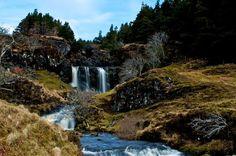 Fairy Falls - glen brittle, isle of skye, scotland   Glen Brittle Skye.