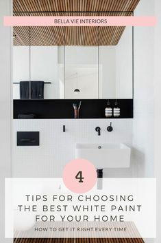 Is choosing white paint doing your head in? I have six go-to white paints. If you know these, choosing white paint for your home is easy! See how I choose the perfect white paint every time. Serene Bathroom, Bathroom Colors, Interior Design Resources, Free Interior Design, Best White Paint, White Paints, Modern Bathrooms, Small Bathrooms, Traditional Toilets