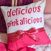Pinkalicious Delicious Pillow Cover - via @Craftsy