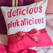 Pinkalicious Delicious Pillow Cover - via @Craftsy