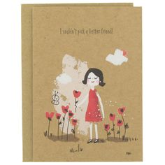better friend card from Paperchase