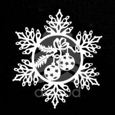Sněhová vločka - koule