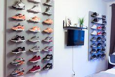 Sneakerwand bauen