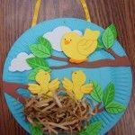 anasınıfı plastik tabaktan kuş yuvası etkinliği (2)