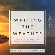 Writing the Weather Editing Writing, Writing Process, Writing Advice, Writing Resources, Writing Help, Writing Skills, Writing A Book, Writing Ideas, Cuba