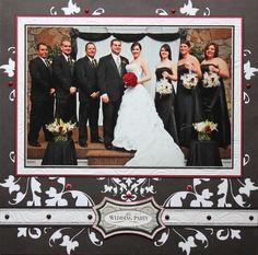 The Wedding Party - Scrapbook.com