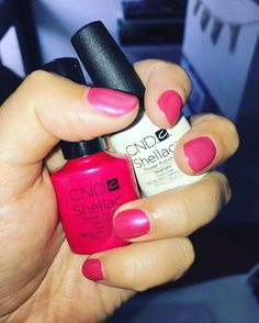 Fresh shellac nails! Hot chills topped off with negligee. #loveshellac #shellacnails Perfect weather for a facial book in today or tomorrow spaces available.