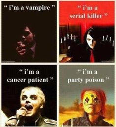 mcr through the years....