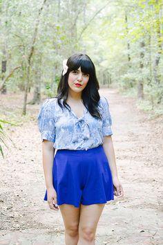 Azul en el bosque | Pepaloves