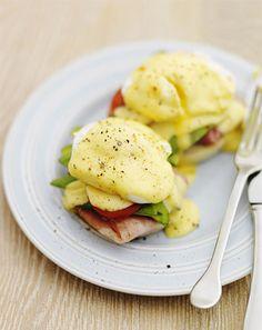 Australian Eggs Benedict - Yummy!