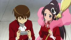 the world god only knows | The World God Only Knows is about a high school student who is godly ...