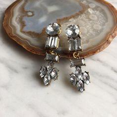 Chandelier drop earrings Brand new. Not j crew J. Crew Jewelry Earrings
