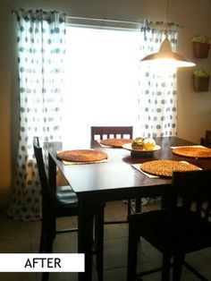 New HENNY Ikea Panels for Dinning Room