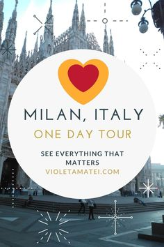 This guide will help you visit Milan in as little as one day, without missing on the most important tourist landmarks in this Italian city. Start your tour by the Duomo, then move on to Galleria Vittorio Emmanuele II, Piazza della Scala, Parco Sempione and other cool places.