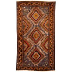 Shop for Herat Oriental Afghan Hand-knotted Tribal Balouchi Wool Rug (2'8 x 4'10). Get free delivery at Overstock.com - Your Online Area Rugs Shop! Get 5% in rewards with Club O!