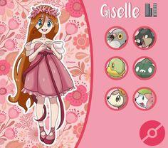 Giselle pokemon trainer