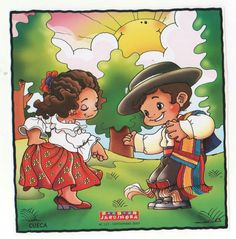 Busco - imagenes : Dibujos Bailes Chile, cueca, jota, Sau Sau, etc National Holidays, Mexican Art, Peru, Disney Characters, Fictional Characters, Mexico, Clip Art, Cartoon, Poster