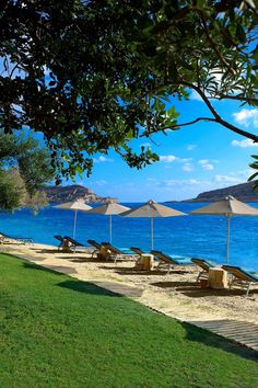 The resort offers jaw-dropping views of the Gulf of Korthos and the island of Spinalonga. #Jetsetter Domes of Elounda (Crete, Greece)