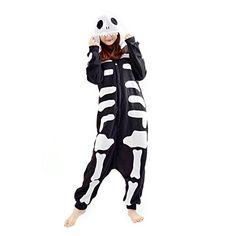 Cuteon Kigurumi Adult Anime Sleepsuit Pajamas Costume Animal Onesie Skeleton Cosplay Size L CuteOn http://www.amazon.com/dp/B017IHJ9FE/ref=cm_sw_r_pi_dp_8tcUwb1752JC2 Skeleton, Wish, Harem Pants, Onesies, Pajamas, Pjs, Harem Jeans, Pajama, Skeletons