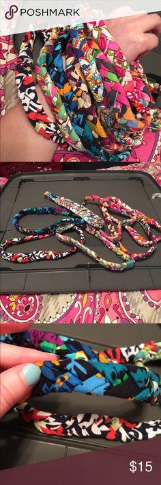 7 Vera Bradley braided headbands. Cotton braided headbands Vera Bradley Accessories Hair Accessories