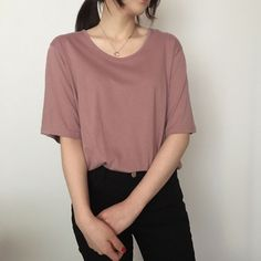 Korean Fashion Trends you can Steal – Designer Fashion Tips Korean Girl Fashion, Korean Fashion Trends, Ulzzang Fashion, Retro Fashion, Cute Casual Outfits, Simple Outfits, Casual Wear, Style Japonais, Moda Vintage