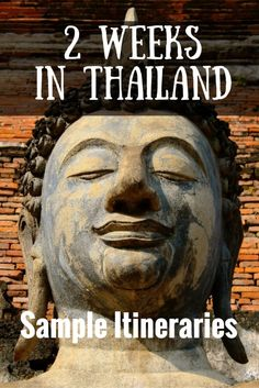 Thailand Itinerary Pinterest