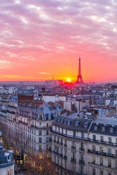 Sunset from the Terrasse du Printemps