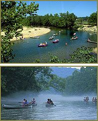 Black River Missouri Ozarks: Canoeing, camping, rafting & tubing on the crystal-clear Black River in Lesterville, MO