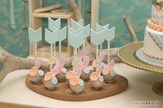 Arrow cake pops from Pocahontas Boho Pow Wow Party at Kara's Party Ideas. Boho Baby Shower, Baby Shower Cakes, Baby Shower Parties, Baby Showers, First Birthday Parties, Baby Birthday, First Birthdays, Birthday Ideas, Girl Parties