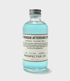 Prospector Co. Aftershave