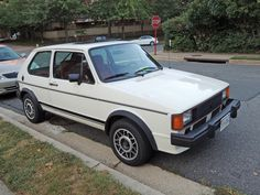 Curbside Classic: 1983 Volkswagen Rabbit GTI — When Fun Hopped Across The Ocean Vw Mk1 Rabbit, Golf Mk2, Car Volkswagen, Import Cars, Cars And Motorcycles, Cool Cars, Vehicle, Dreams, Classic
