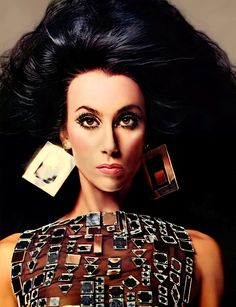 Cher Photographed for Vogue by Richard Avedon: 1966 and 1974