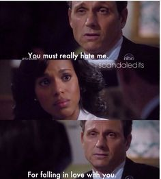 The pain on his face! I love Fitz and Olivia!