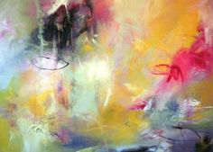 Anna Schueler morgenweich|kunst, 2011  I put a spell on you , 90 x 100 cm, Acryl auf Leinwand